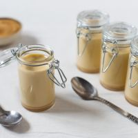 Brown sugar panna cotta
