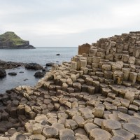 One autumn morning on the Giant's Causeway