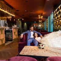 My wedding photo shoot at Haymarket by Scandic Stockholm