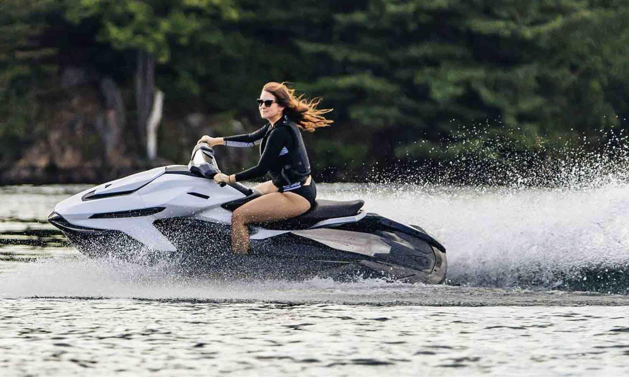 Taiga electric jet ski, made in Montreal