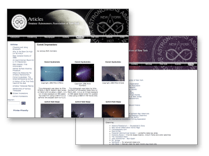 Amature Astronomers Association