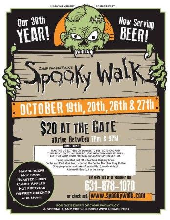 2018 Spooky Walk