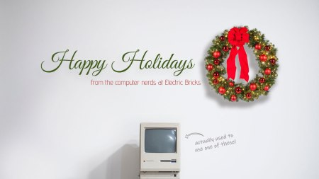 Happy Holidays from Electric Bricks
