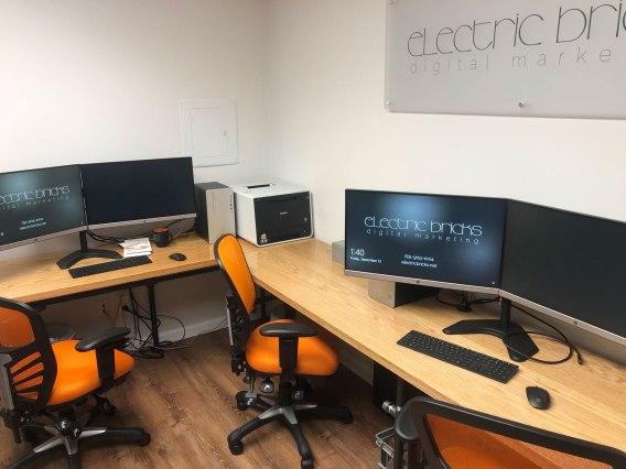 Electric Bricks Office After Renovation