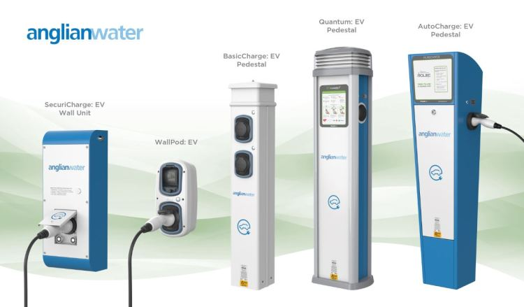 Branded business EV charging points