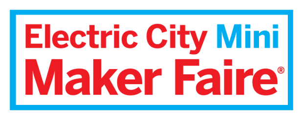 Electric City Mini Maker Faire logo