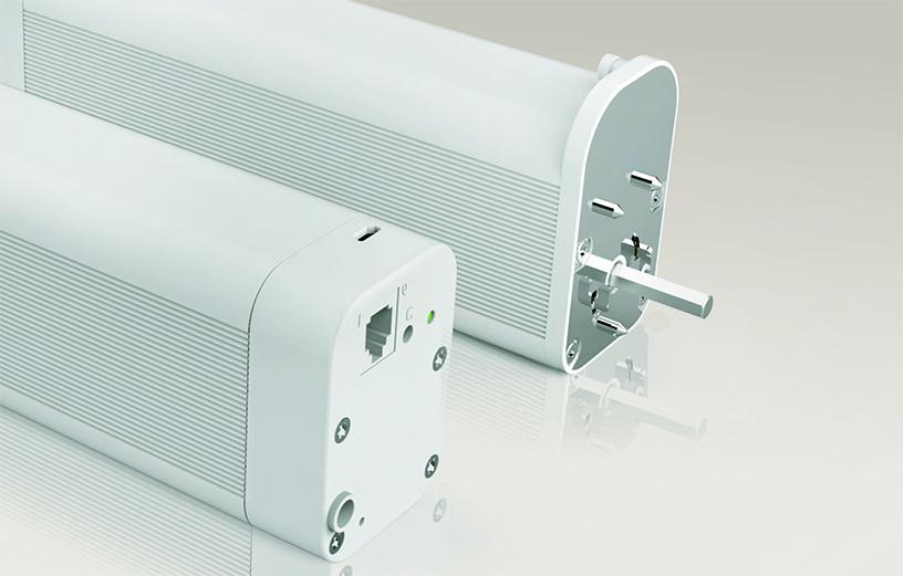 electric drapery rod