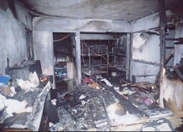 Electrical Fire happen due to poor electrical maintenance