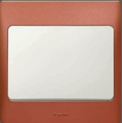"Light switch Red ""Legrand"""