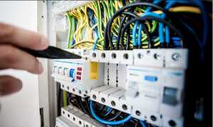 Licenceelectrician was currently performing a test on a supply installation that has a voltage operation or 400 volts and below.