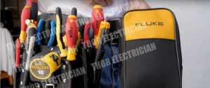 最有执照的电工新加坡皮革工具腰带