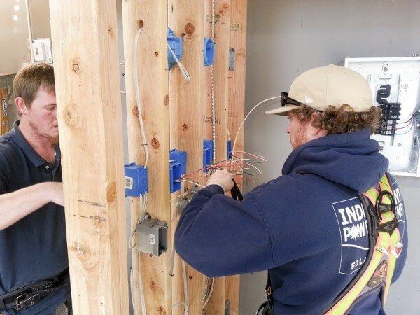 IEC Electrician apprentice training