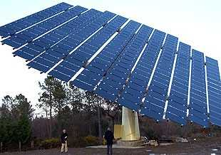 seguidor solar para paneles solares