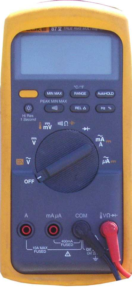 multímetro solar