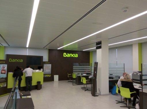 Montaje oficina Bankia