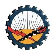 Día del electricista en Argentina. Escudo del sindicato de Luz y Fuerza.