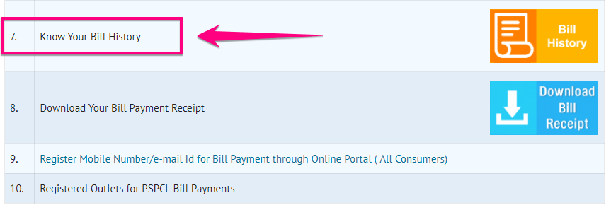 Check PSPCL Electricity Bill Payment Online 2