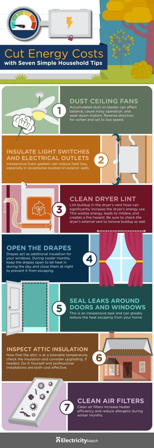 Fall Energy Savings Tips