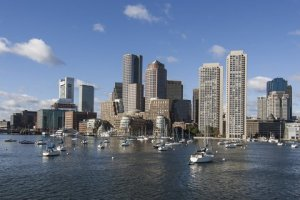 Boston Massachusetts skyline