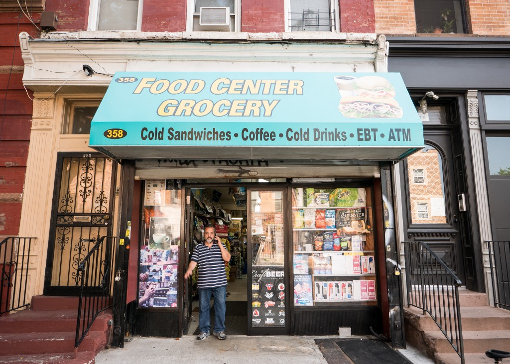 11782bc2a0f04 On Franklin Ave, Mami and Papi owned the entire building that housed their  bodega. Every morning at 7:57 they'd come down from the apartment above to  heave ...