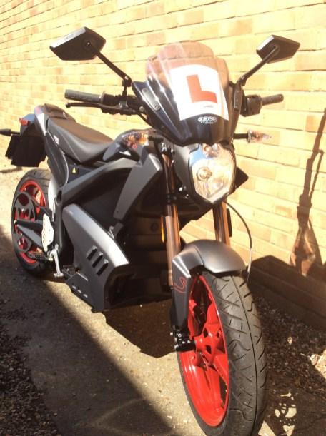 Zero Motorcycles front view