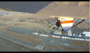 EMG-6 Test Flight #11 Left wing (Video)