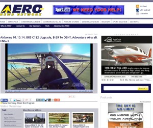 Aero News Network: EMG-6 In the news with first test flights.