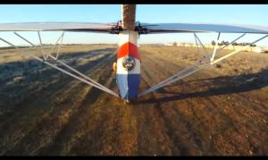 EMG-6 Landing using the nose skid (Video)