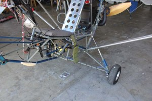Main Landing Gear Modifications (Bicycle Brakes)