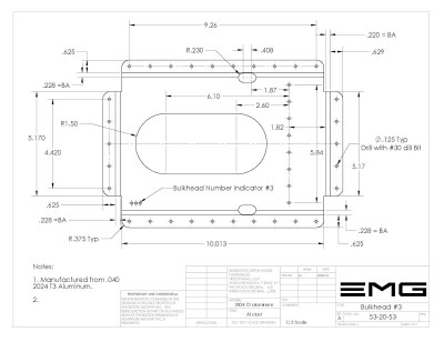 Fuselage Boom Assembly Bulkhead #3 Chapter 53-20-53
