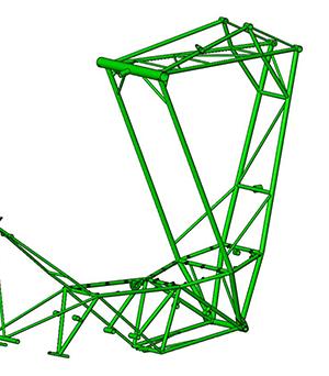 53-10 Fuselage Frame