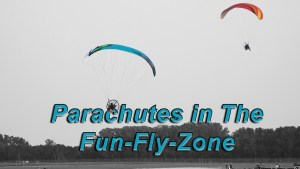 PPC's and Paramotors  in the Fun-Fly-Zone AirVenture 2019