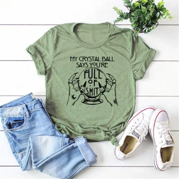 Crystal Ball Sage shirt