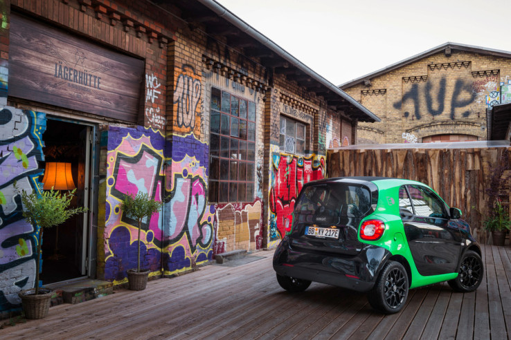 Smart's entire car lineup will have an electric drive option in 2017 | TechCrunch