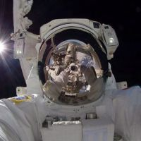 The best selfie out-of-this-world!