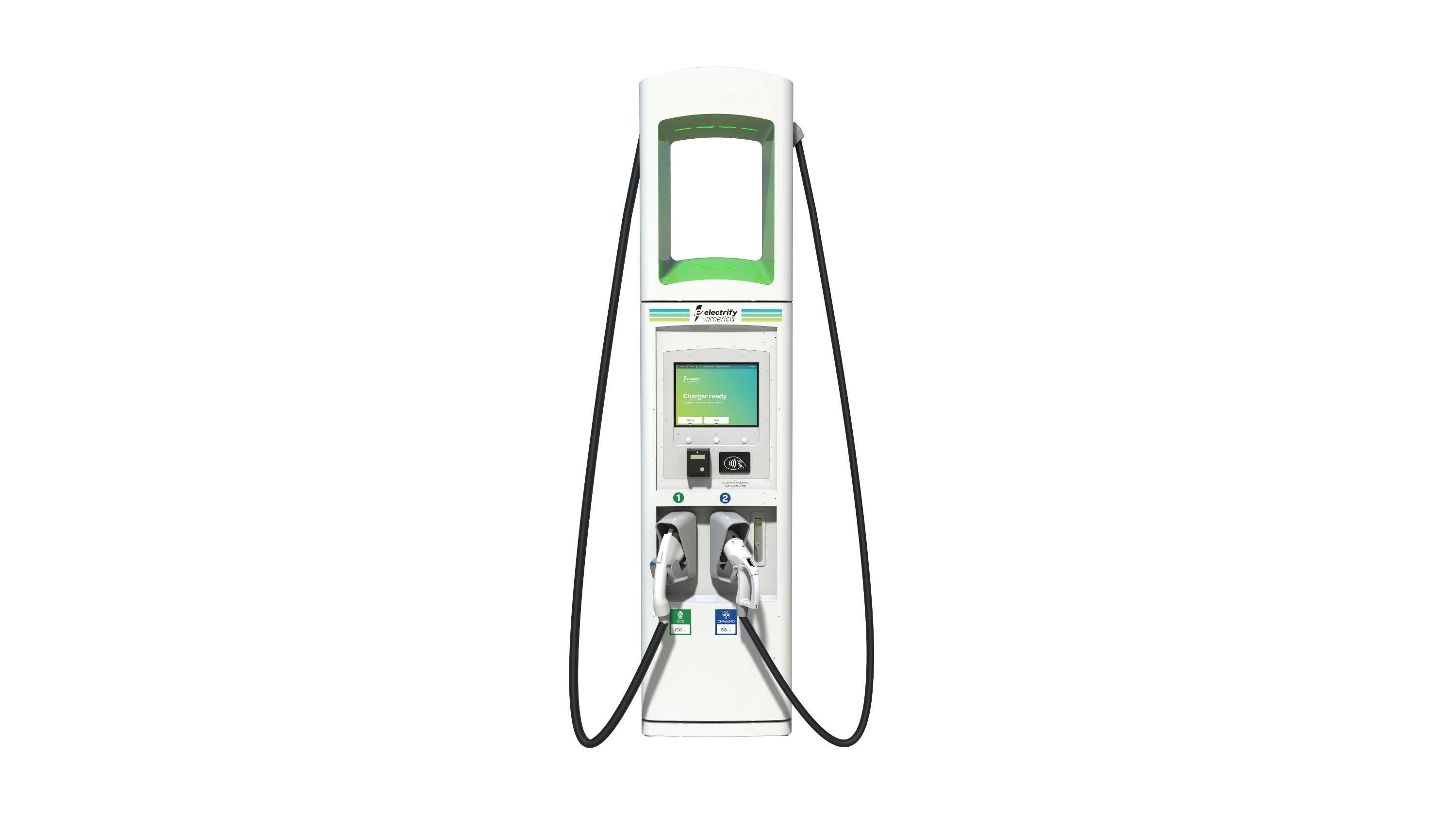 Electrify America Charger By Btc Power Electric Revs