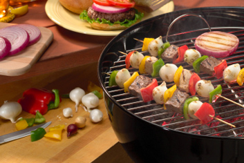 outdoor cooking for summer energy efficiency