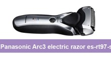 Panasonic Arc3 electric razor es-rt97-s review