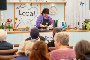 Lincolnshire Show Co-op Cookery Stand