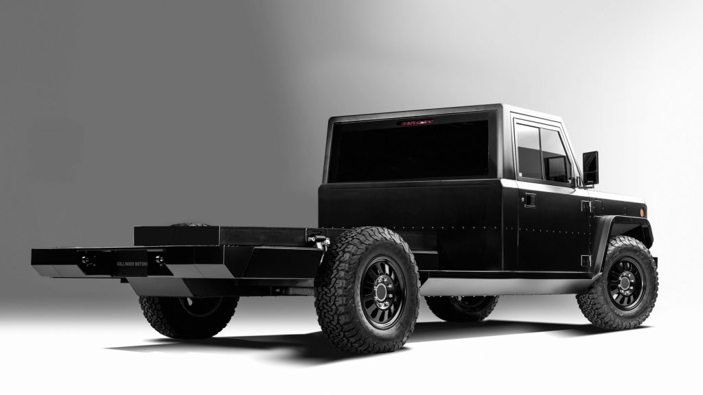 Bollinger B2 Chassis Cab - Rear