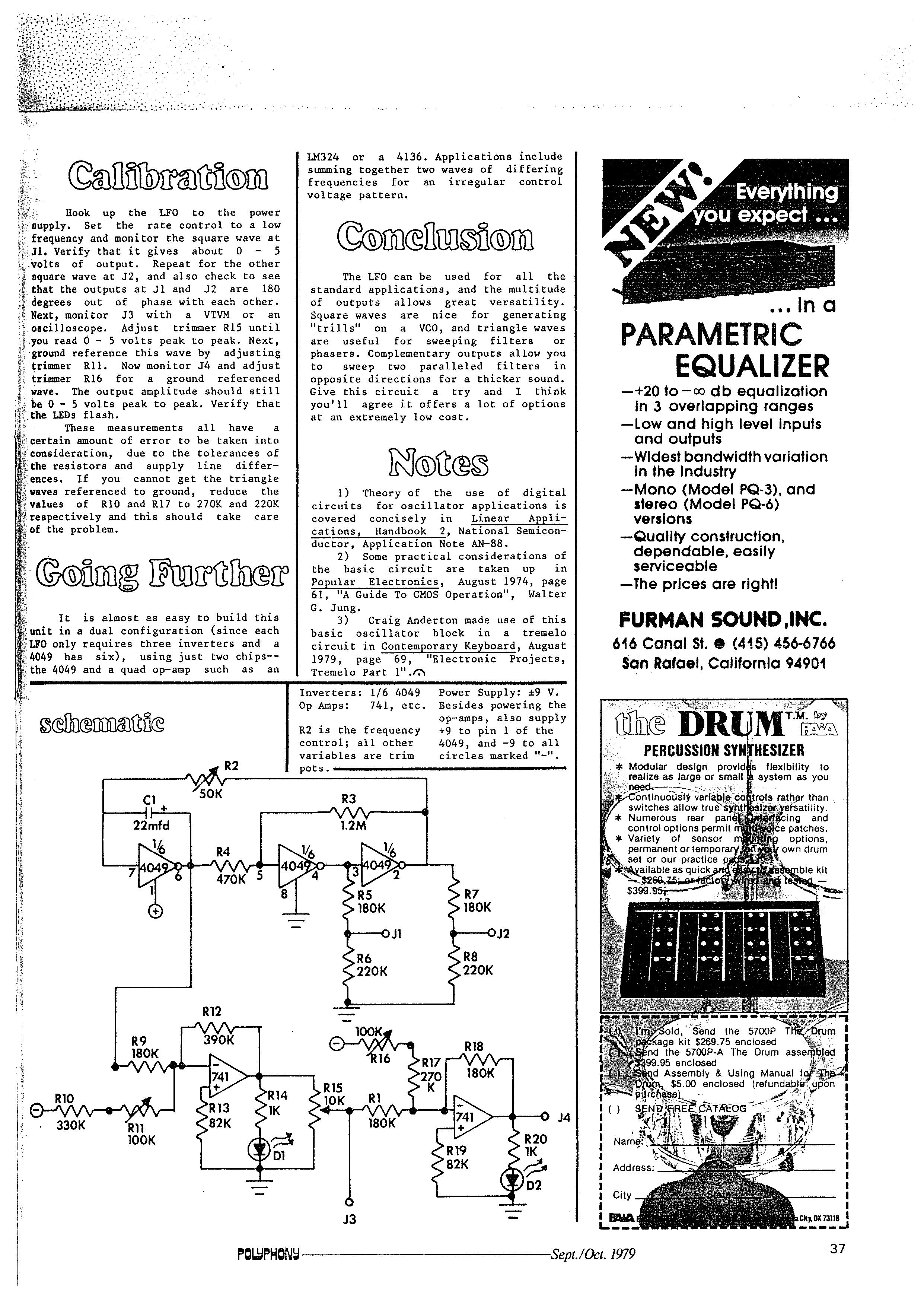 Electromusiccom Wiki Schematics Magic Smoke Lfo