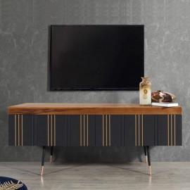 meuble tv mural en bois