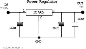 All you need to know about IC 7805 | electroconcepts