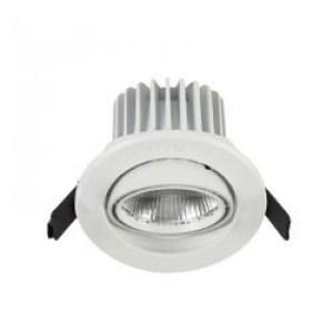 LED SPOT EMBUTIDO ORIENTABLE-DIMERIZABLE 7W LUZ BLANCA