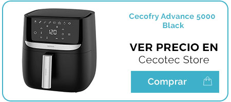Cecofry Advance 5000. Review y opinión de la nueva freidora dietética de Cecotec