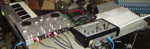 XJN music console electro funk assembly