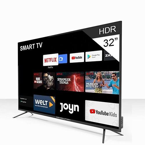 revolution smart tv 32 frameless design recepteur integre tnt android 7 1 garantie 1an