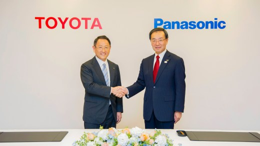 Toyota and Panasonic battery alliance