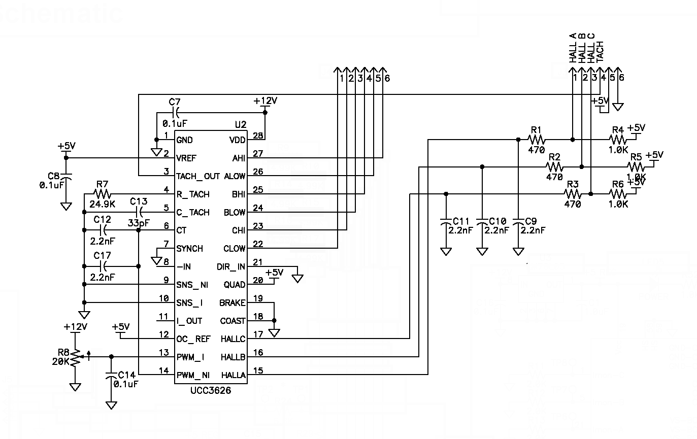 Brushless Esc Schematic