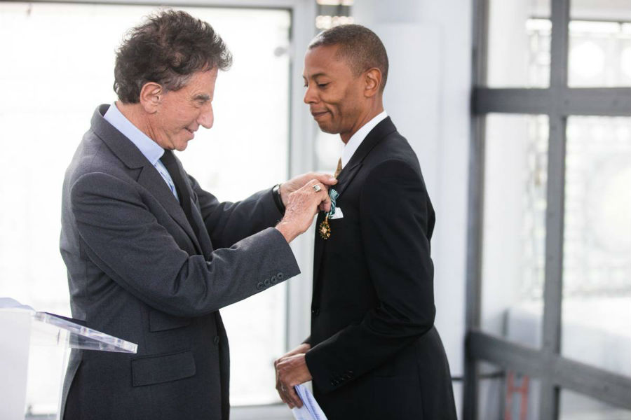 Jeff Mills Receives France's Order Of Arts And Letters Condecoration
